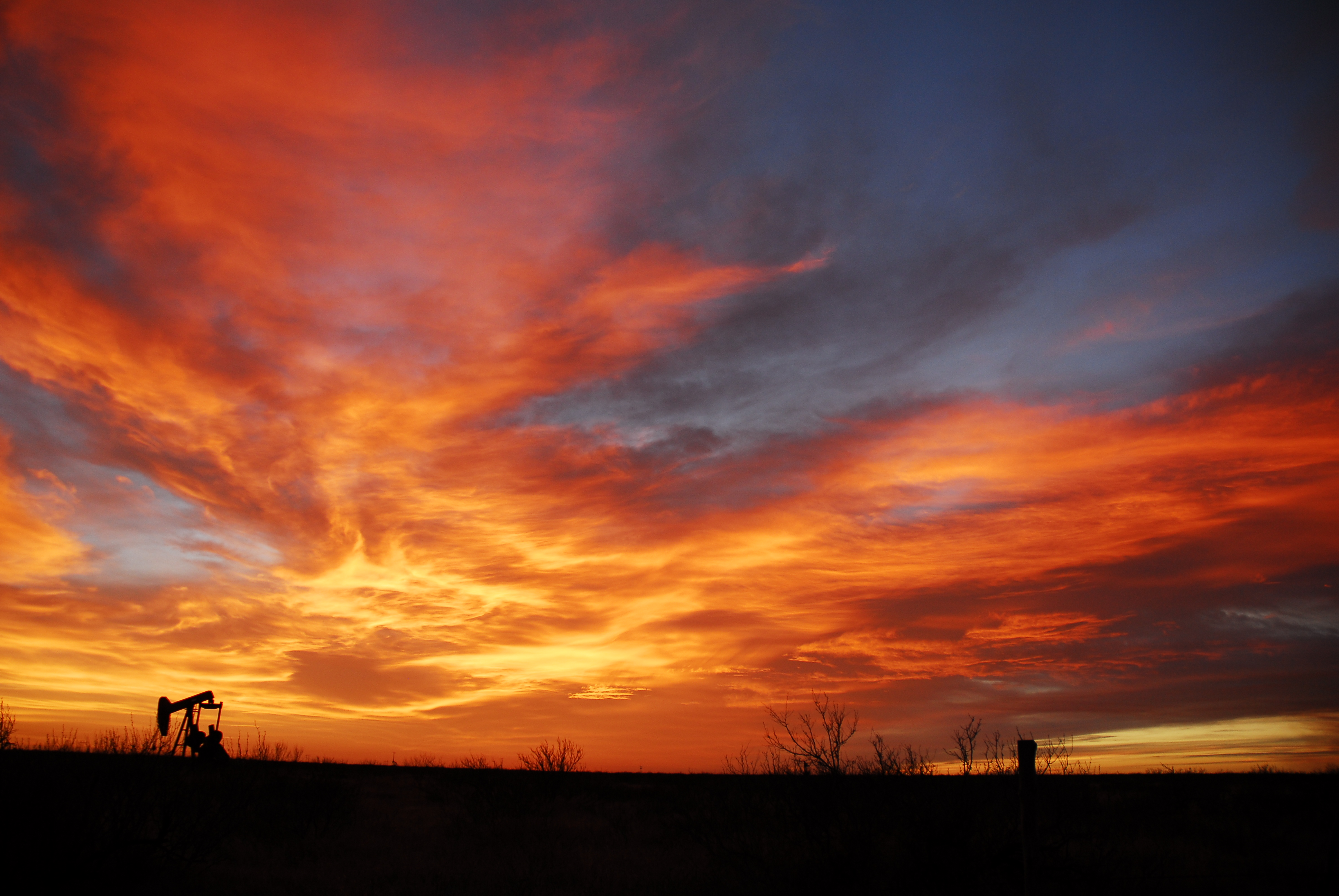 Blue Skies Of Texas >> West Texas Sunset   Bishop Decker Photography