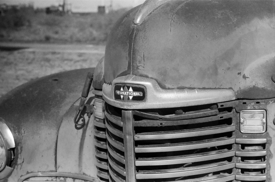 International truck hood ornament. Late 40's vintage
