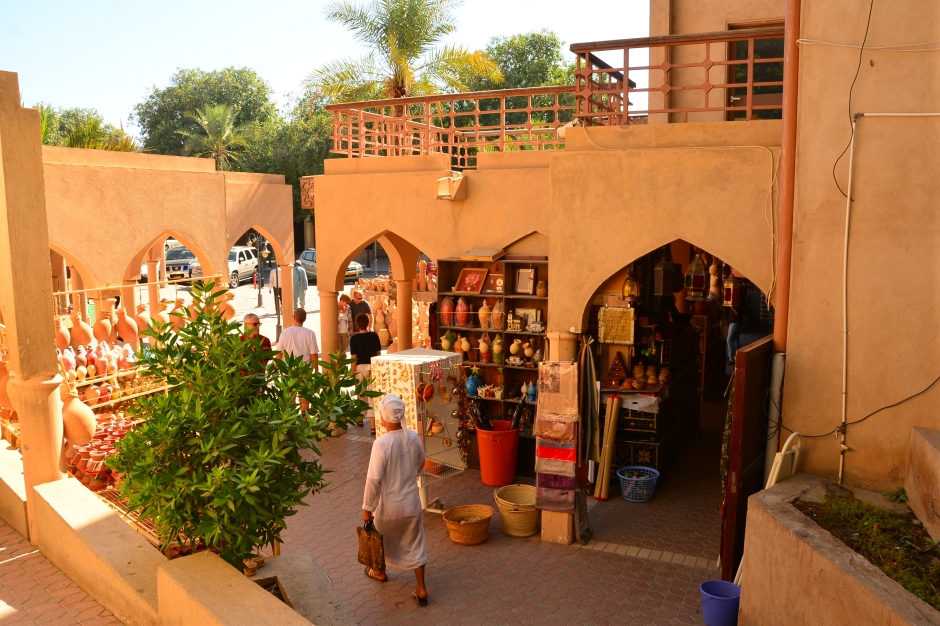 Entering the market in Nizwa, Oman