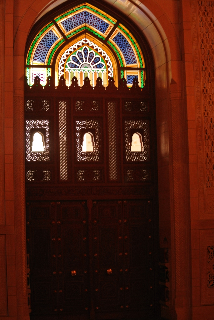 Inside the women's prayer room.